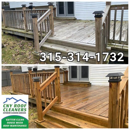 deck cleaning Jamesville syracuse